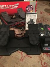 Thrustmaster Elite Rudder Pedals & Attack Throttle  Excellent Used Condition