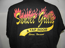 Sunset Grille -Stowe Vermont  Sports Bar t-shirt size XL NWOT