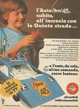 X7686 Auto Reel 45 - Giocattoli radiocomandati - Pubblicità del 1977 - Advertis.