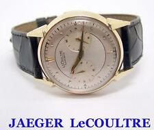 Vintage Solid 14k JAEGER-LeCOULTRE FUTUREMATIC Watch 1960s* EXLNT* SERVICED