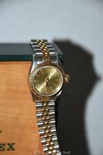 Rolex Ladies #67193 18K Yellow Gold & Stainless Steel Oyster Perpetual Automatic