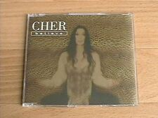 CHER - BELIEVE (DELETED 1998 CD SINGLE)