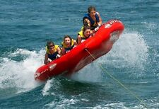 Tube Float Towable 4 Person Inflatable Water Sport Ski Boat Raft Tubing Four