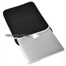 "Black 13"" Laptop Soft Bag Case Sleeve Cover Pouch For 13.3""Apple Macbook Pr"