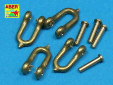 EARLY MODEL SHACKLE FOR PZ.KPFW.VI TIGER KINGTIGER AUSF.B x4PCS #35R11 1/35 ABER