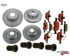 NEW BMW E39 M5 Disc Brake RotorSet of 2 Front and Rear + Pads Meyle
