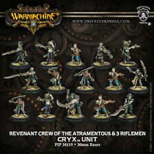 Warmachine : Cryx  - Revenant Crew Of The Atramentous - PIP 34119 - BNIB
