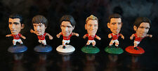 x6 CORINTHIAN Micro Stars FIGURE LOT Collection Soccer Football Miniature Japan