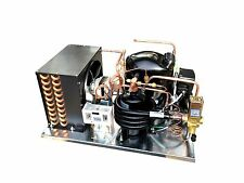 Combo Air/Water Cooled Condensing Unit Med Temp 1/2 HP, R404A, 115V (NEK6210GK)
