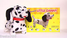 Battery Operated Little Mini Toy Danny Wiener Dalmatian Puppy Dog Walks & Barks