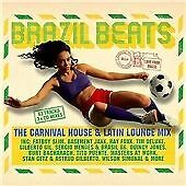 Various Artists - Brazil Beats (Carnival House & Latin Lounge Mix, 2014) CD NEW