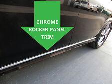 CHROME ROCKER PANEL Body Side Molding Trim 2pc - hyun #1
