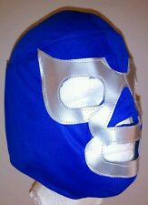 Blue Demon WWE Wrestling Mask RAW SmackDown Rey Mysterio Halloween Costume