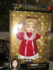 Marie Osmond 15 Inch Doll Adora Belle 1999 Holiday Cheer Red Dress Blonde NRFB