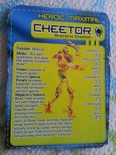 Transformers BEAST MACHINES SUPREME CHEETOR TECH SPEC ONLY