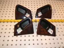 Mercedes Late W163 2000 ML320 F or R WOOD door handle L & R 1 set of 4 Surrounds