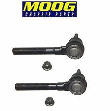 Chrysler Dodge Intrepid 300M Pair Set of 2 Front Outer Tie Rod Ends Moog ES3529