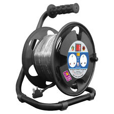 MX Extension Reel Surge W/ 2 Universal Sockets 50 Mtrs Power Cable-MX 3015B