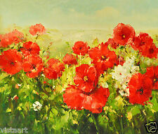 "Oil Painting On Canvas 20""x 24""- Red Meadow"