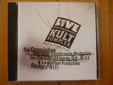 1Live - Kultkomplex / Ash Sneaker Pimps Die Sterne Throwing Muses Faithless  Neu