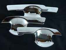 MAZDA BT 50 PRO 2012  4 DOORS PICK UP CHROME HANDLE BOWL INSERT SURROUND COVER