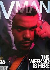 VMan Magazine #36 Fall / Winter 2016 fashion Cover 2 THE WEEKND