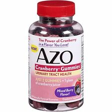 Azo Cranberry Gummies 40ct