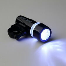 New Black Bike Bicycle 5 LED Power Beam Front Head Light Torch Lamp YS