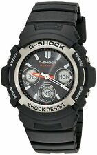 Casio G-Shock AWG-M100-1ACR Men's Tough Solar Atomic Black Resin Sport Watch