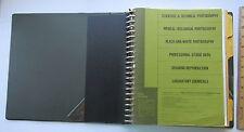 Kodak Technical Infomation Binder/Loose Leaf Loaded w/ Tech Data  1970's