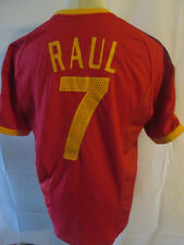 Spain 2002-2004 Raul 7 Home Football Shirt Size Large /34263