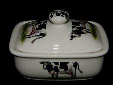 Bn bone china traditional beurrier vache et couvercle de haute qualité cuisine