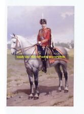 mm229 - Romanov - Czar of Russia Nicholas II  on horse - art - photo 6 x 4