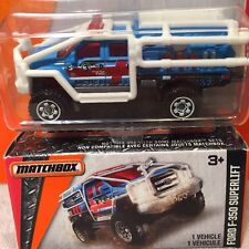 Lot Of 2 Matchbox Power Grabs Sealed Box & Blister Pack Ford F-350 Fire Truck