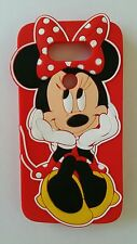 Silicone Cover per cellulari T MINNIE RED para  LG G5