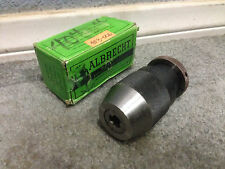 "NEW! ALBRECHT 1/32"" to 1/2"" PRECISION KEYLESS DRILL CHUCK - 130 - 70090"