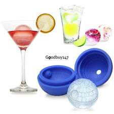 New 3D Silicone Death Star Ice Cube Round DIY Mould Star Wars hockey Mould Set