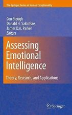 Assessing Emotional Intelligence : Theory, Research, and Applications (2009,...