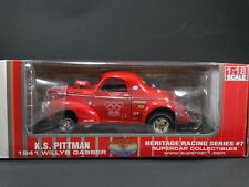 Supercar Collectibles 1941 Willys Gasser KS Pittman 1:18 Scale Diecast Model Car