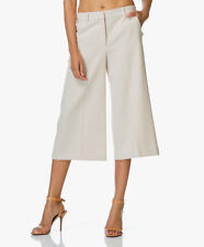 Theory Halientra New Chino Wide-Leg Pants KHaki Sz 10  NWT $285