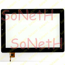 "Touch screen Mediacom WinPad X100 M-WPX100 10,1"" Vetro Digitizer Nero"