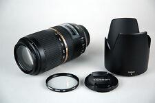 Obiettivo Tamron SP AF 70-300 f/4-5.6 di VC USD per Canon