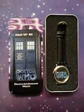 DOCTOR WHO TV MOVIE ELECTRO-LUMINESCENT WATCH LIMITED EDITION 1996 LIGHT UP DIAL