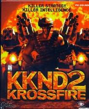 KKND 2 KrossFire + Manual PC CD world nuclear war urban jungles strategy game!