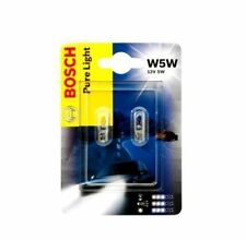 Bosch w5w 12v Pure light 1987301026 doppelblister bombillas auto lámparas Wow!!!