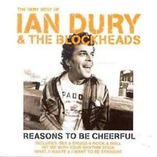 Ian Dury/Blockheads Very Best Of CD NEW SEALED Hit Me With Your Rhythm Stick+