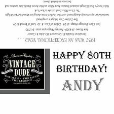 1937/80th Birthday Party Favors/Candy Wrappers