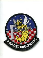 VFA-211 CHECKMATES US NAVY BOEING F-18 F SUPER HORNET Fighter Squadron Patch