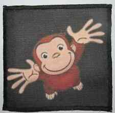 CURIOUS GEORGE - Pick me please- Printed Patch - Sew On - Bag, Backpack, Jacket!