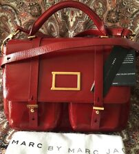 MARC by MARC JACOBS Top Handle messenger Cabernet Red Leather M0004795 Beautiful